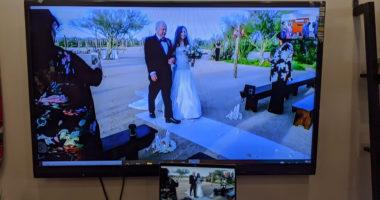 Anulojnë dasmën për shkak të koronavirusit, çifti martohet nëpërmjet kamerave