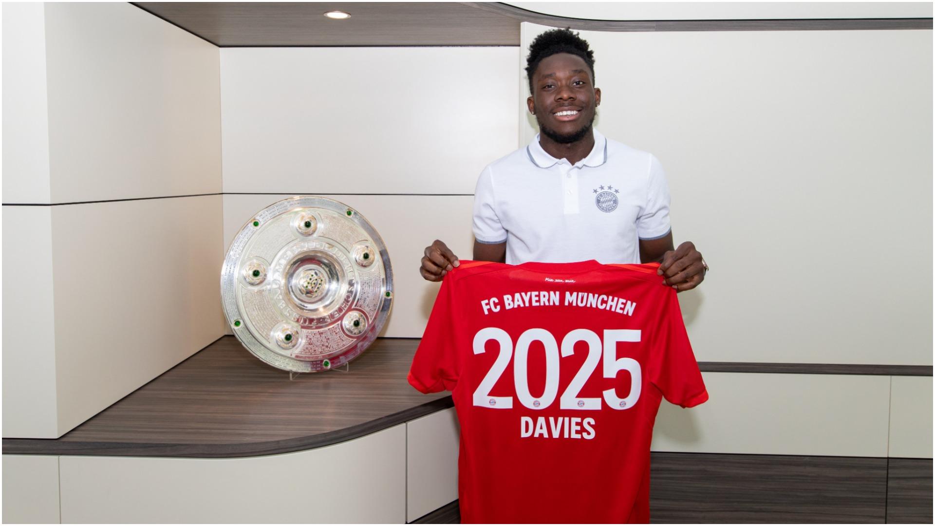 Rinovim me pagë të majme, Davies: Fitoj çdo trofe të mundshëm me Bayernin