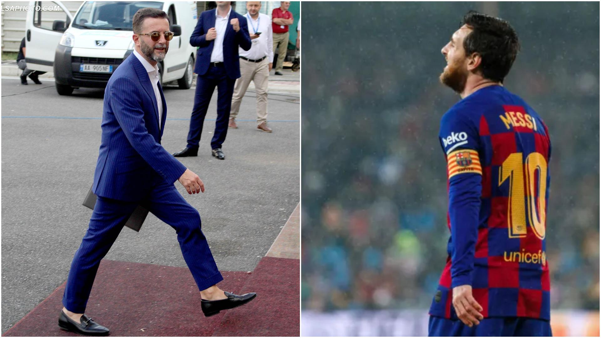 """VIDEO   """"Ikni nga njerëzit siç bën Messi"""", Braçe mesazh për shqiptarët"""