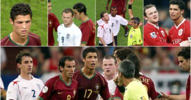 Kartoni i kuq dhe shkelja e syrit nga CR7: Rrëfimi i 'Wazza' Rooney