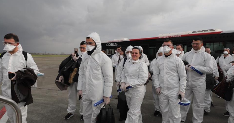 60 nurses are sent from Albania to help Italy in the fight against coronavirus