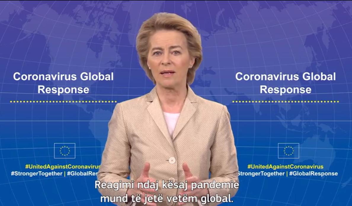 Presidentja e KE: Më 4 maj samit global, çfarë duhet për të mposhtur Covid-19