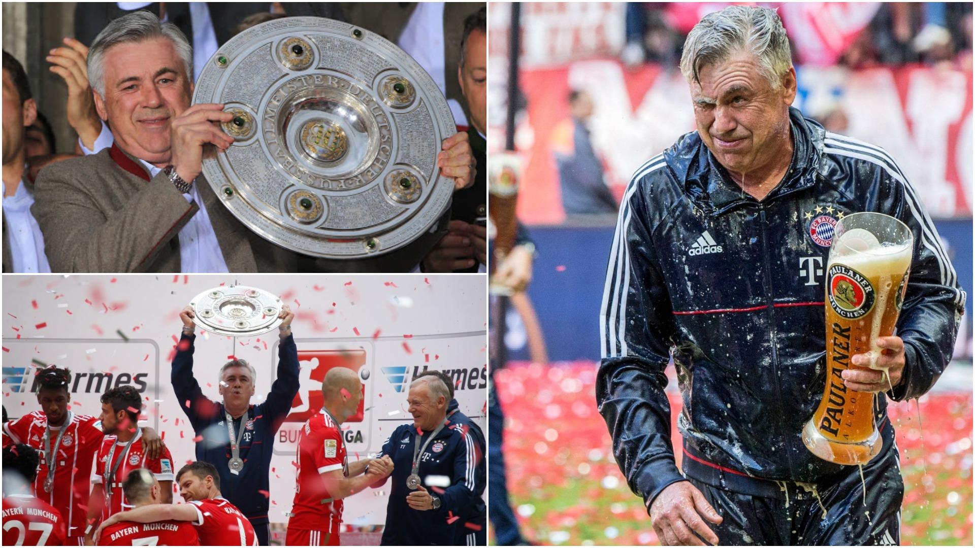 Tre vite më parë, kur Ancelotti u bë trajneri i vetëm me këtë rekord