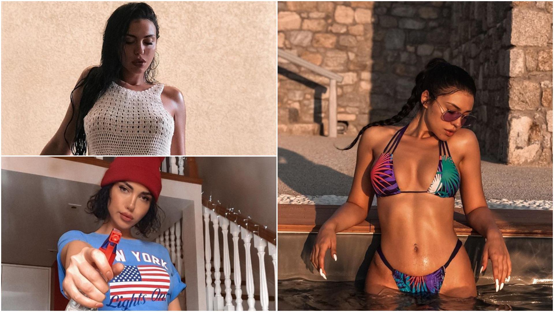 """""""Throwback"""" i Einxhel Shkirës, moderatorja publikon foton 'hot' në Instagram"""