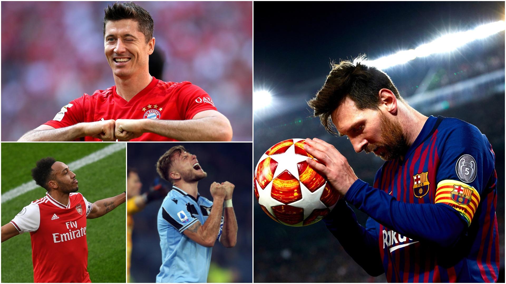 Gola me shumicë, njihuni me 10 golashënuesit më të mirë në Europë