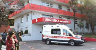 Shkon në 17 numri i viktimave, në spitalin Infektiv ndërron jetë një pacient 75-vjeçar