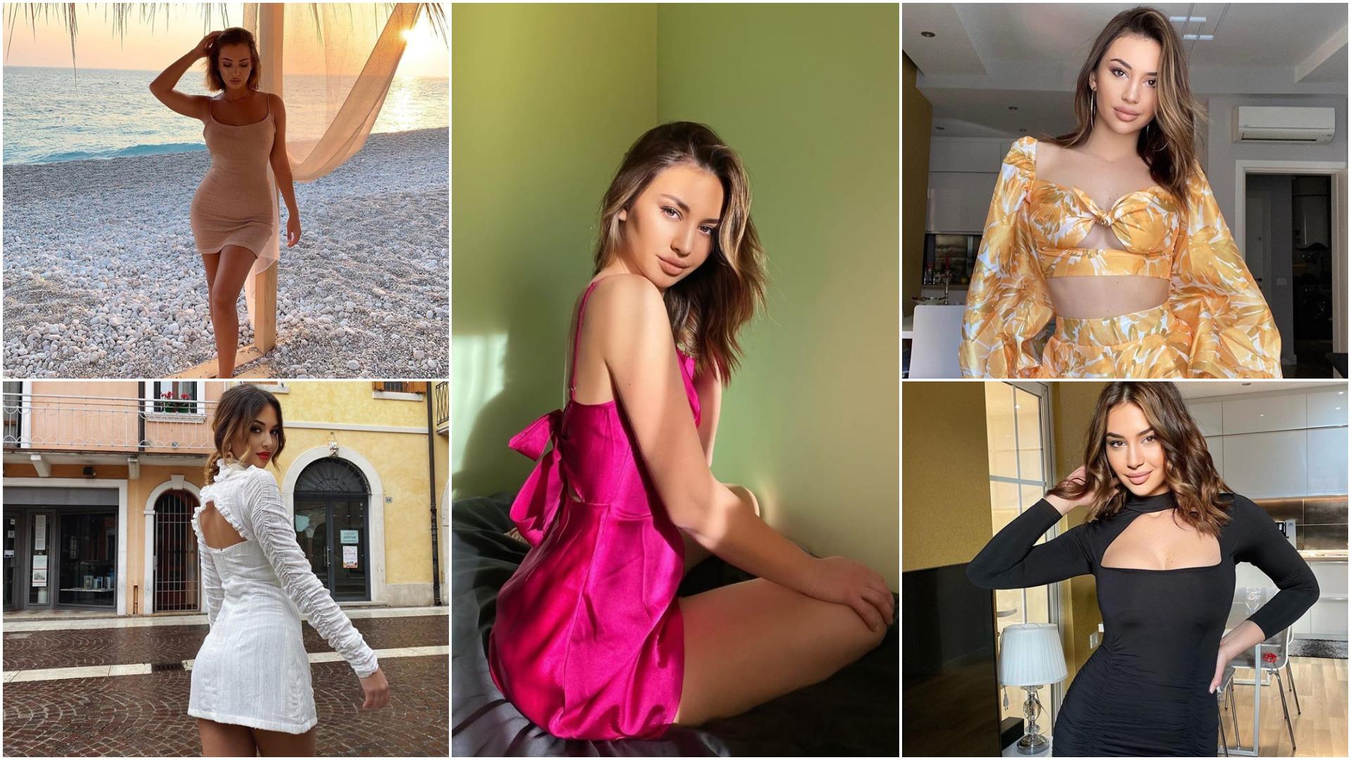 Nostalgji për plazhin, fustan 'pink' dhe sensacion në Tik-Tok: Karantina e Kiara Titos