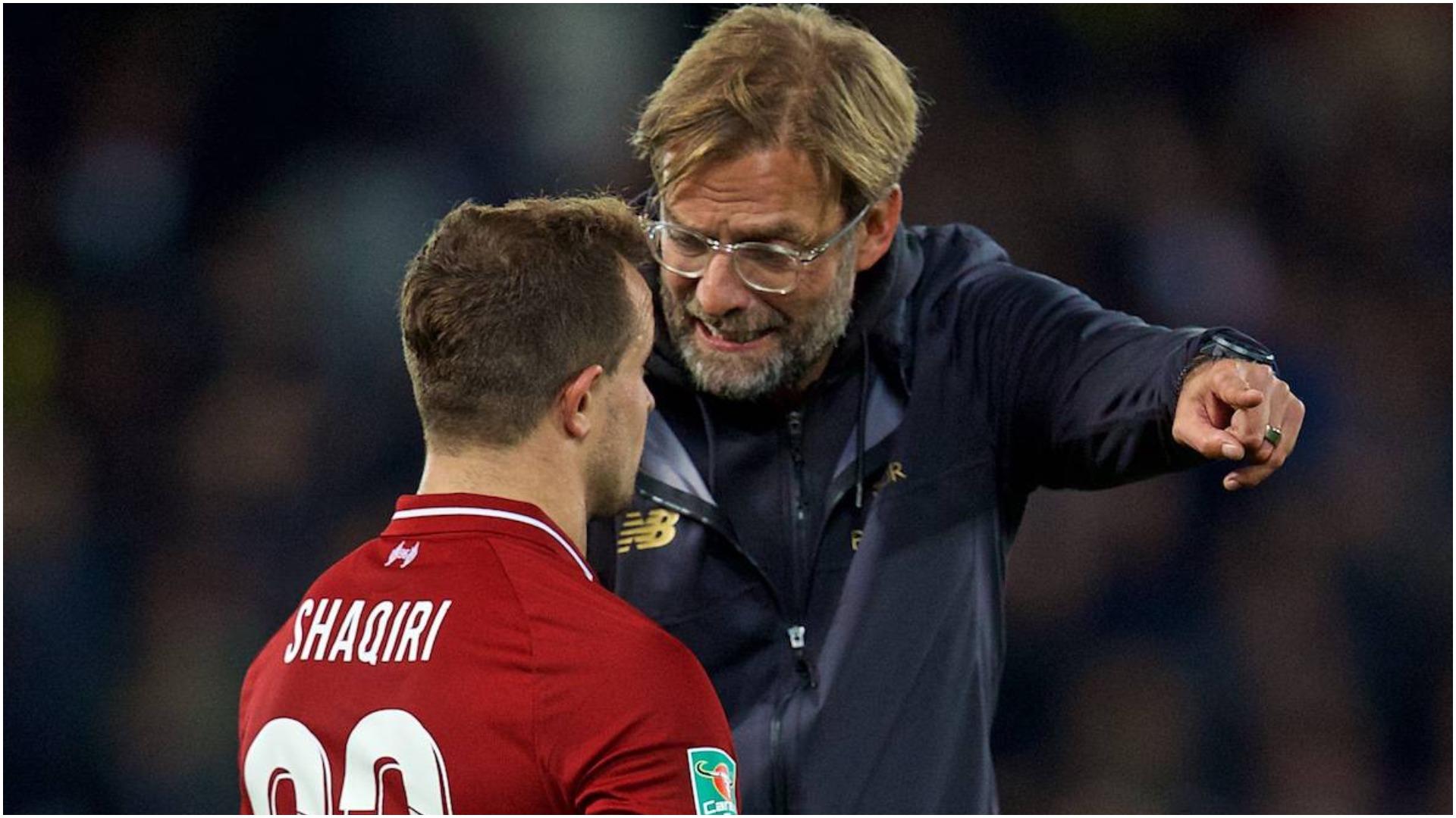 Klopp: Tek Arsenali më tremb Arteta, Shaqiri ka të ardhme te Liverpool