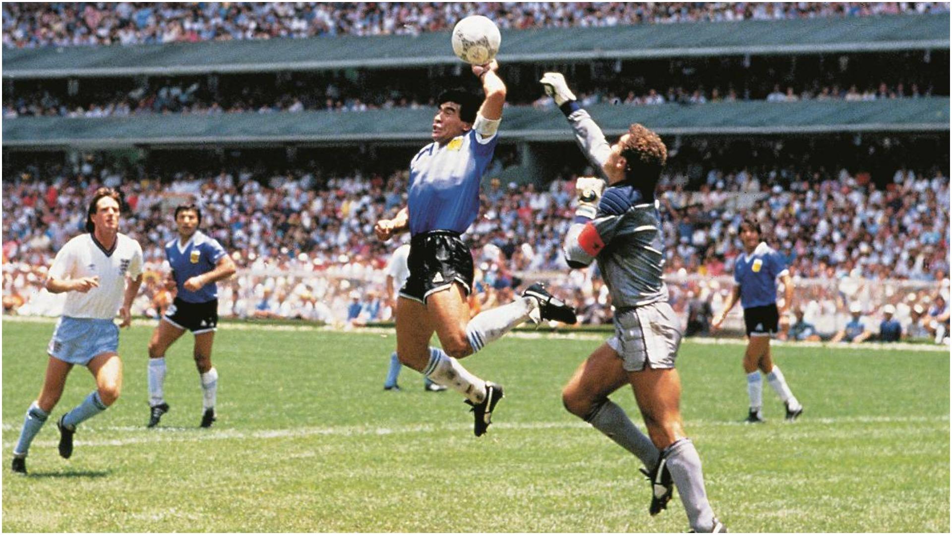 """""""Dora e Zotit"""", Maradona: U mashtruan 80 mijë vetë, asnjë arbitër nuk e pa"""