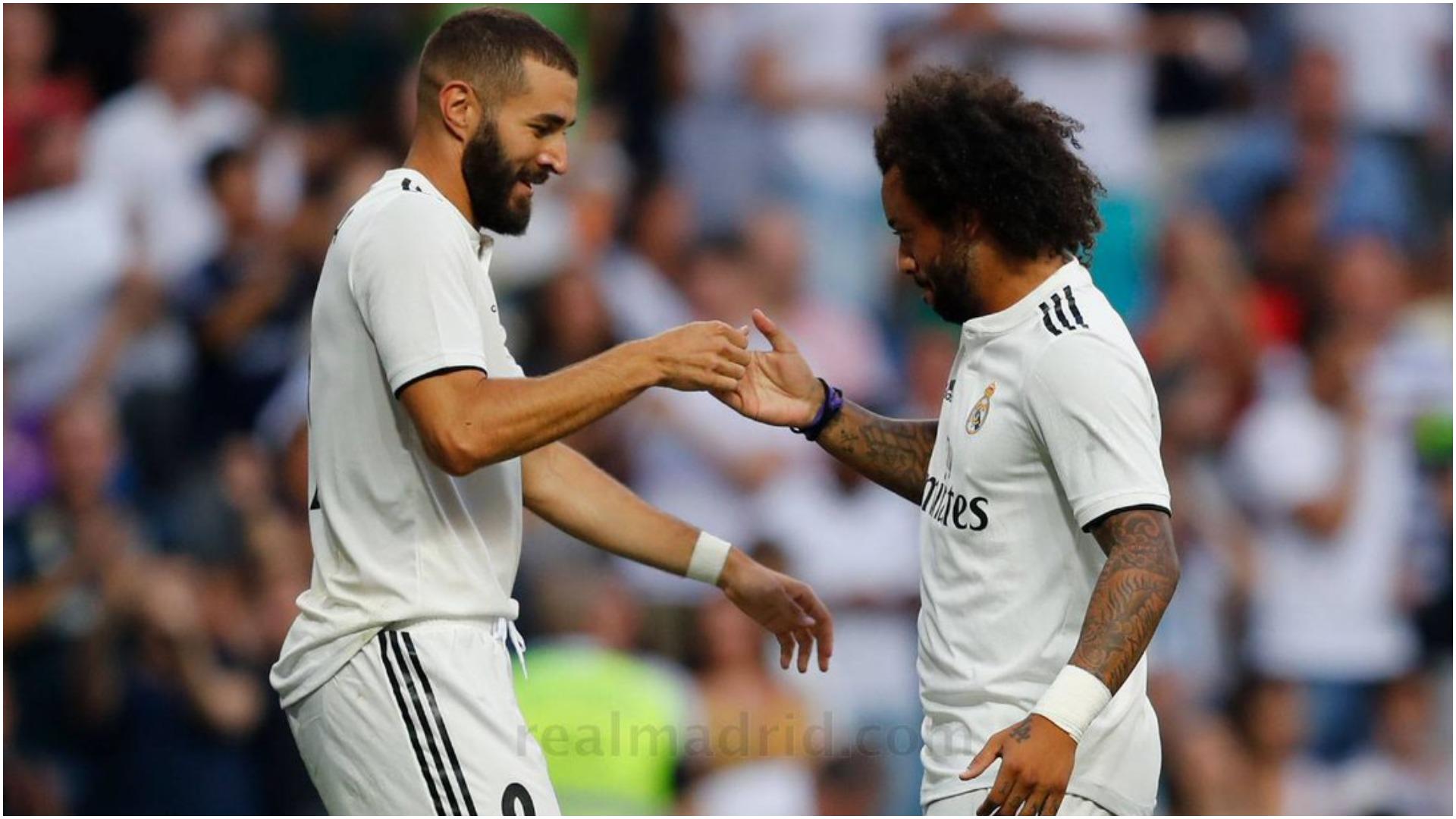 """Dueli interesant mes Benzema e Marcelo, synohet """"froni"""" i Roberto Carlos"""