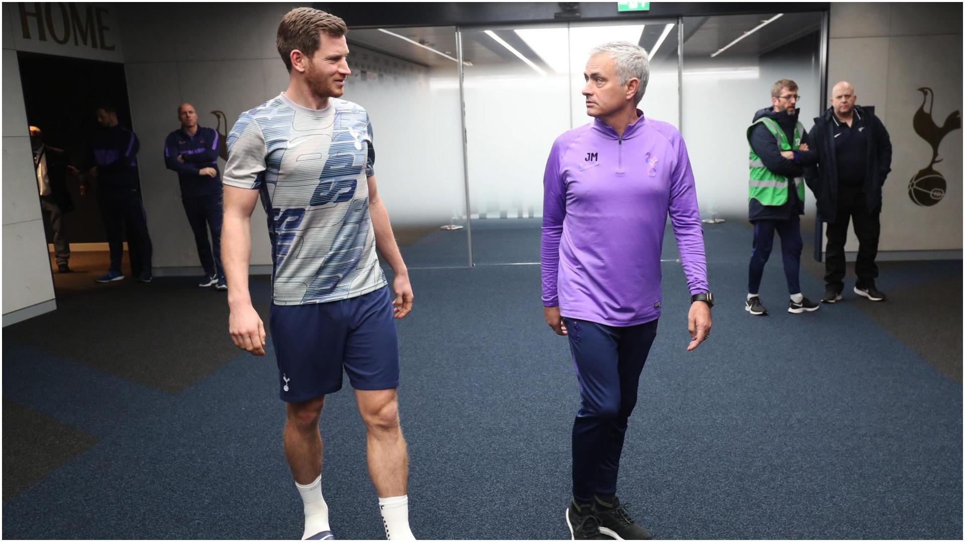 Mourinho e do në ekip, Vertonghen: Firmos për një klub me ambicie!