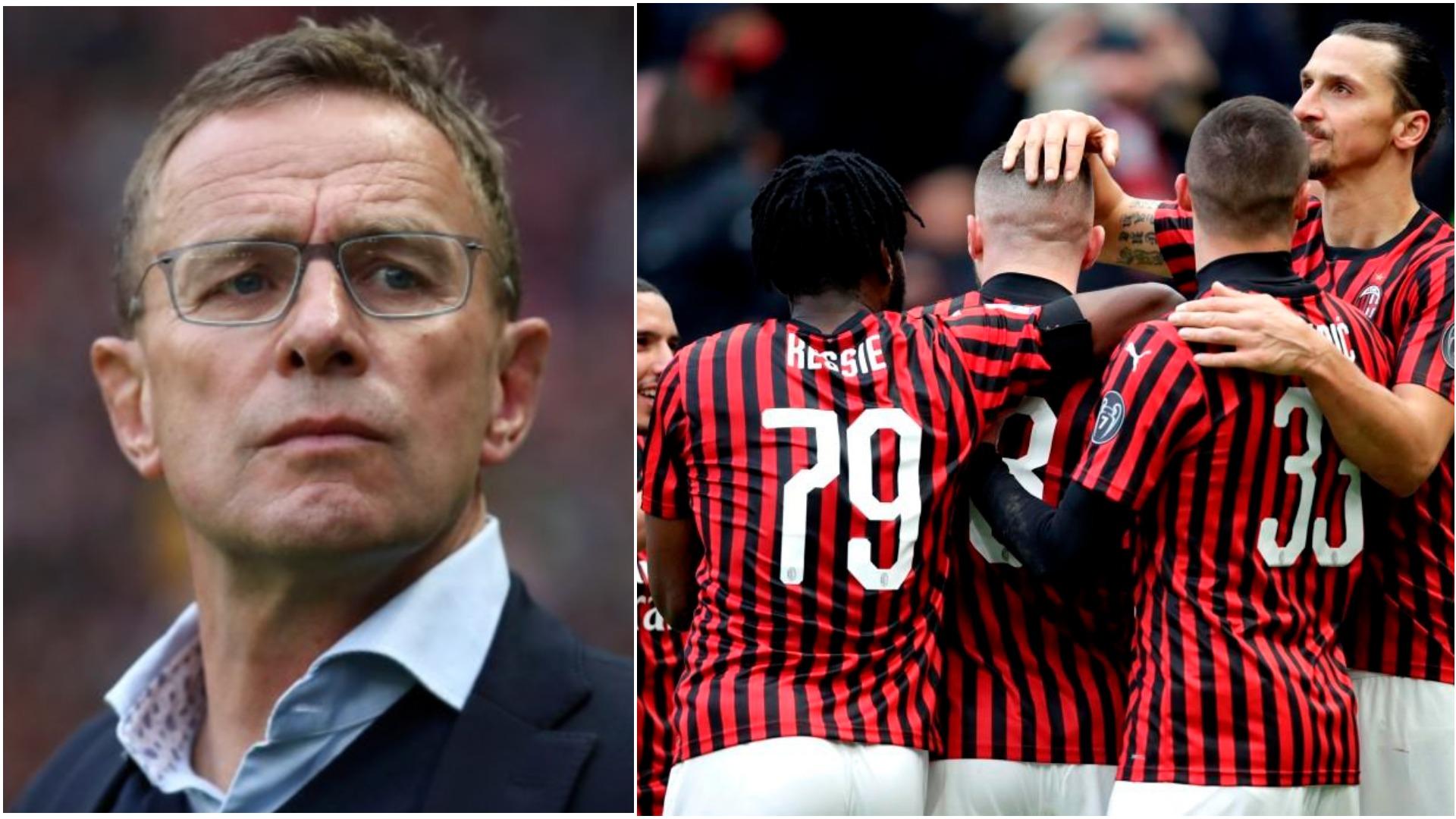 Skenari i ri: Ragnick drejtor teknik, Milani gjerman piketon trajner tjetër
