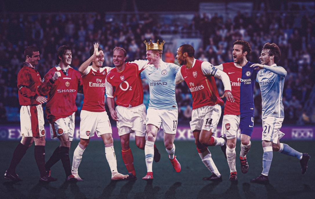 """De Bruyne, Ozil, dhe Beckham: Kush janë yjet që """"fshihen"""" pas golave?"""
