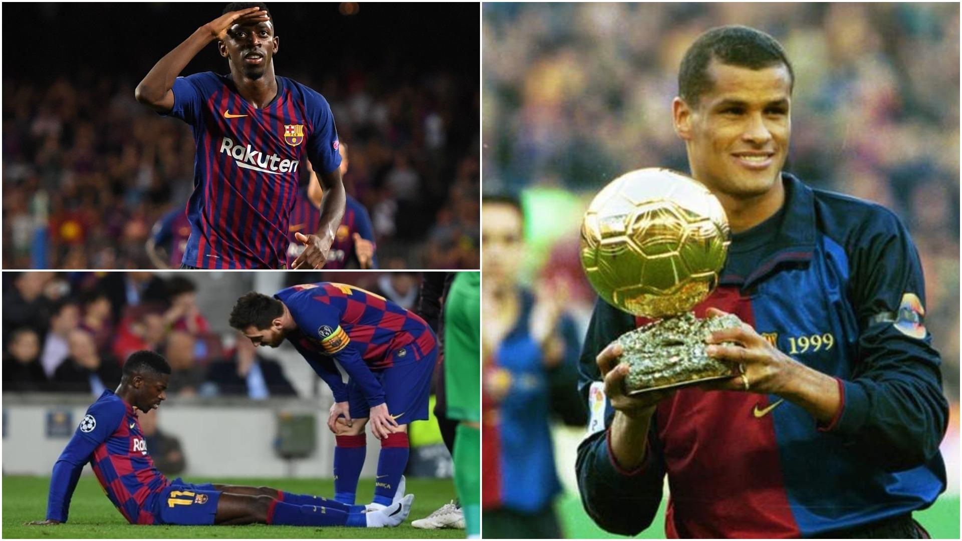 Rivaldo: Koha e tij përfundoi, Barcelona duhet ta shesë Dembele