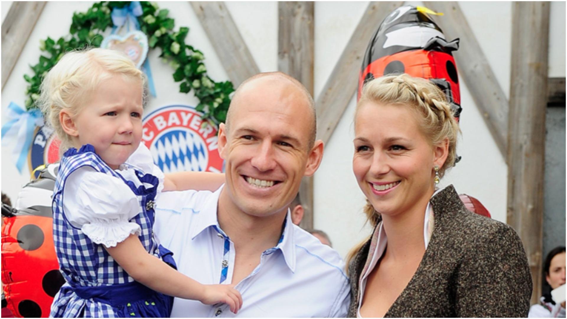 """""""Kisha frikë, këto ishin simptomat e gruas time"""", Robben jep lajmin e mirë"""