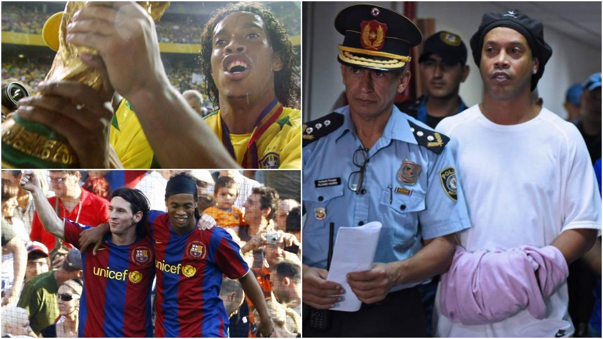 """Ditët e vështira pas hekurave, Ronaldinho rrëfen """"tmerrin"""" në Paraguai"""