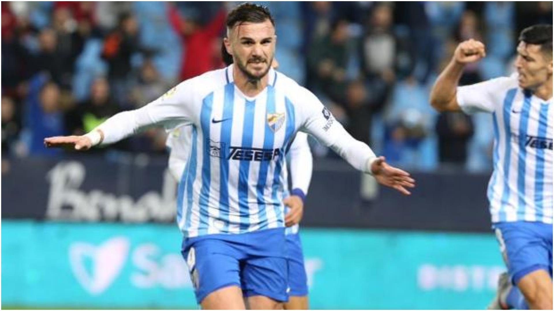 VIDEO/ Sadiku shënon dhe qetëson Malaga, rekordi historik vetëm dy gola larg