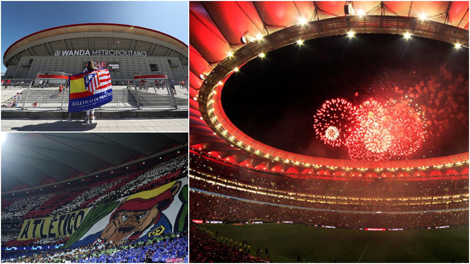 Solidariteti i Atletico Madrid, kthen stadiumin në një kuzhinë gjigante