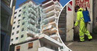3 raste me COVID-19, pallati 9-katësh vendoset në karantinë në Fier