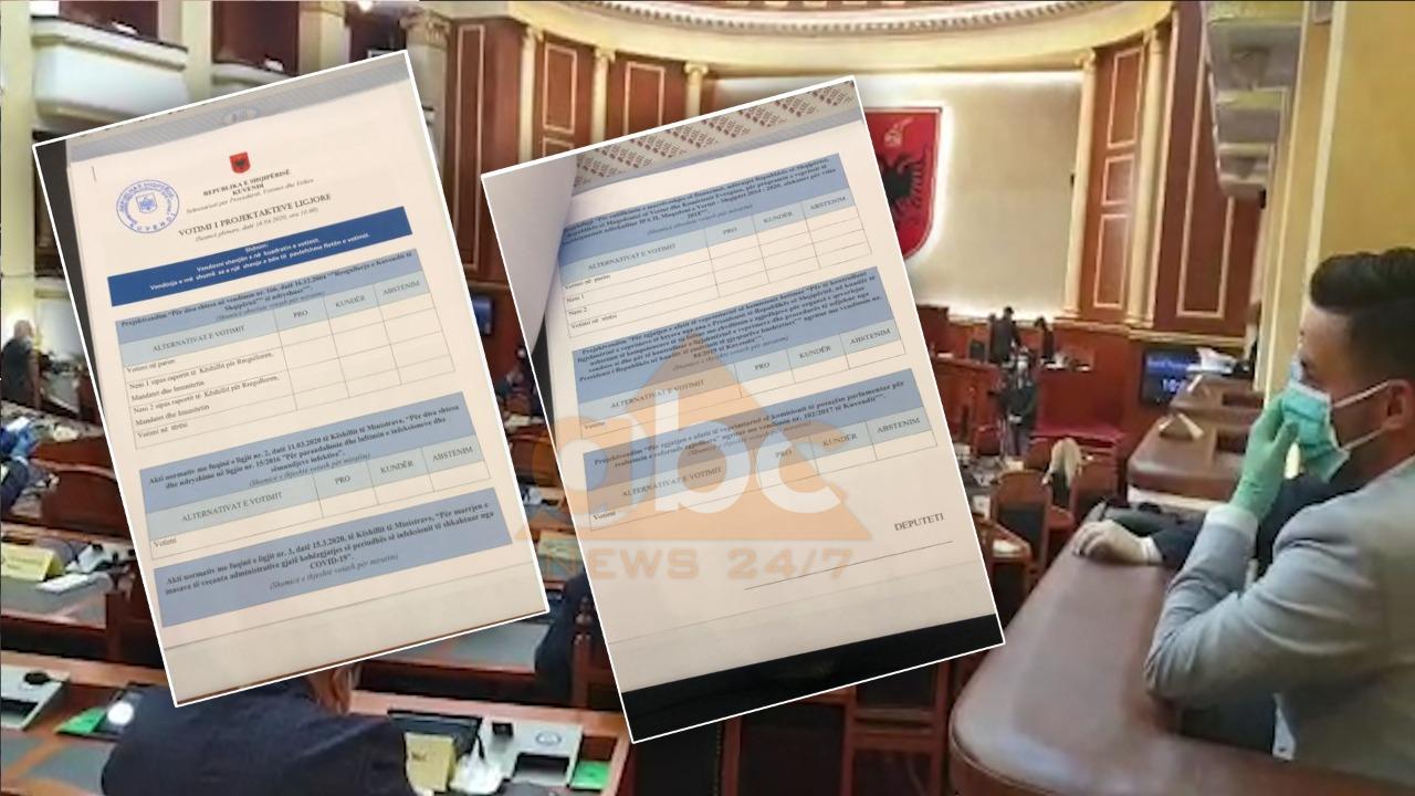 FOTO/ S'ka elektronikë, zbulohet si do të votojnë deputetët për ndryshimet e Kodit Penal
