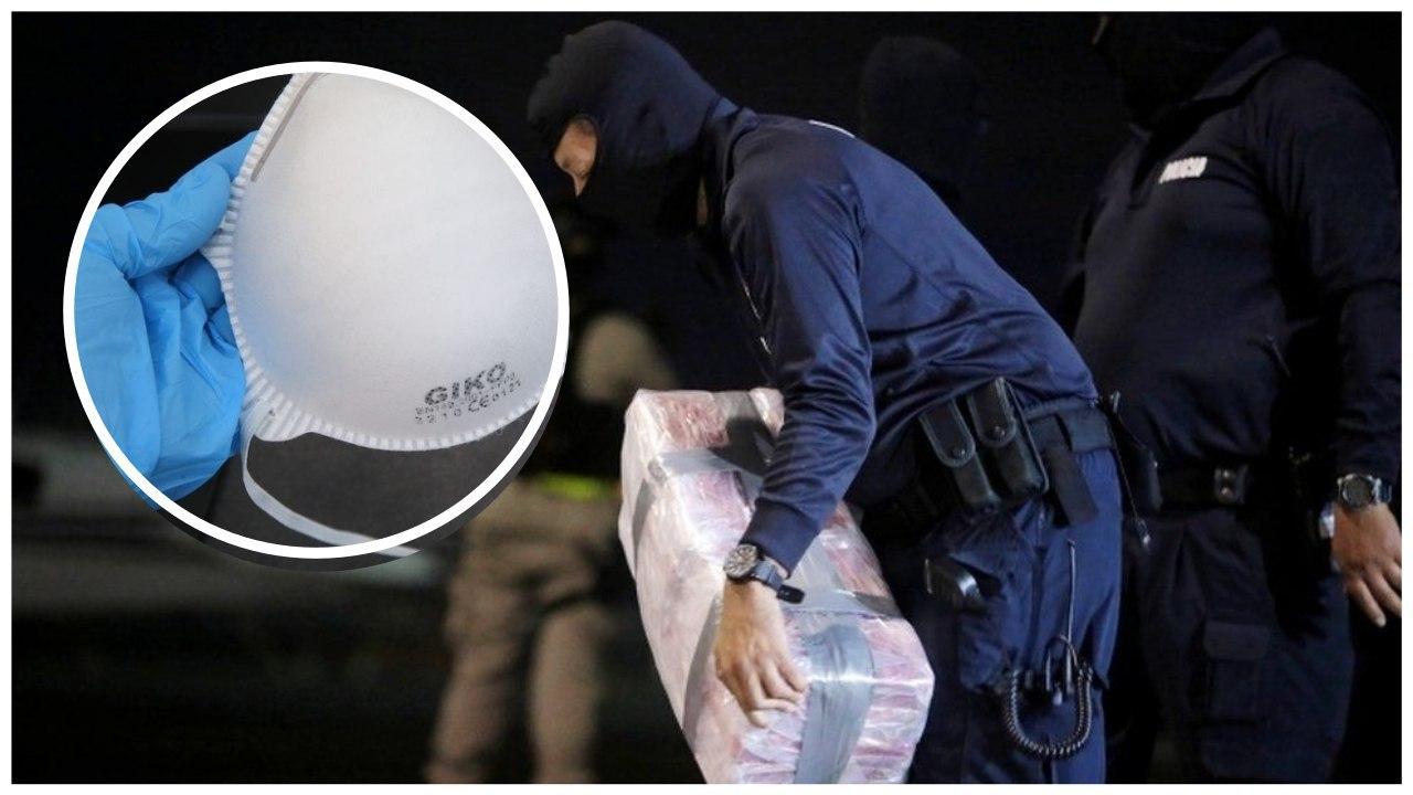 Me një vlerë mbi 1 milion paund, kapet 14 kg kokainë në pakot e mbushura me maska kundër Covid-19
