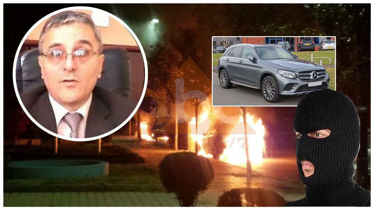 U vihet zjarri automjeteve në pronësi të ish-kryetarit të Gjykatës së Elbasanit dhe vajzës së tij