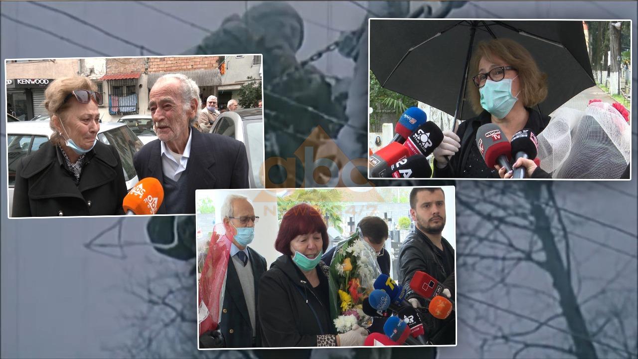 Miqtë dhe kolegët me lot në sy i japin lamtumirën ikonës së kinemasë shqiptare Rikard Ljarja