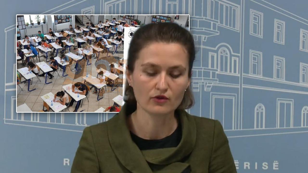 Ministrja e Arsimit Shahini: Anulohen provimet e lirimit dhe të klasave të 5-ta