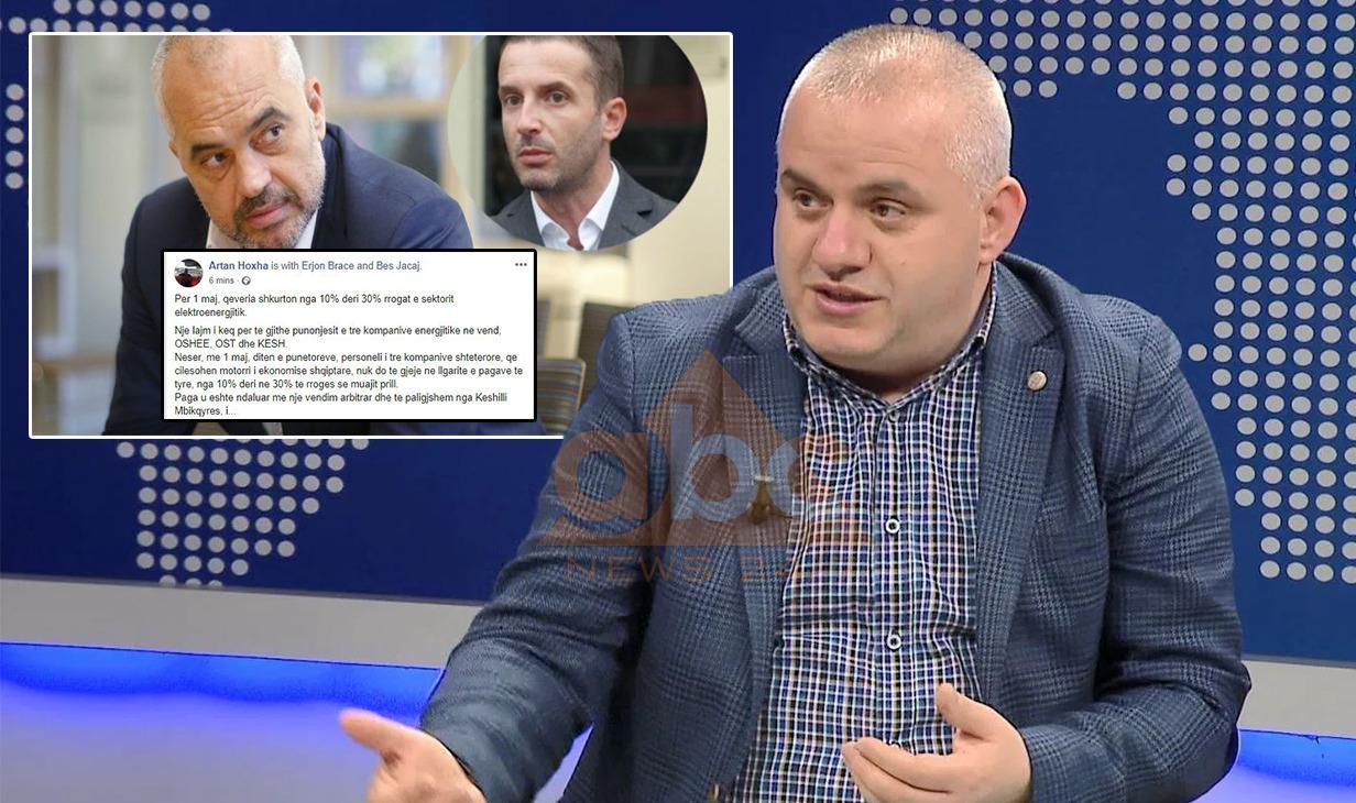 """VENDIMI SEKRET/ """"Qeveria shkurton rrogat e sektorit elektroenergjitik"""", Artan Hoxha publikon vendimin"""