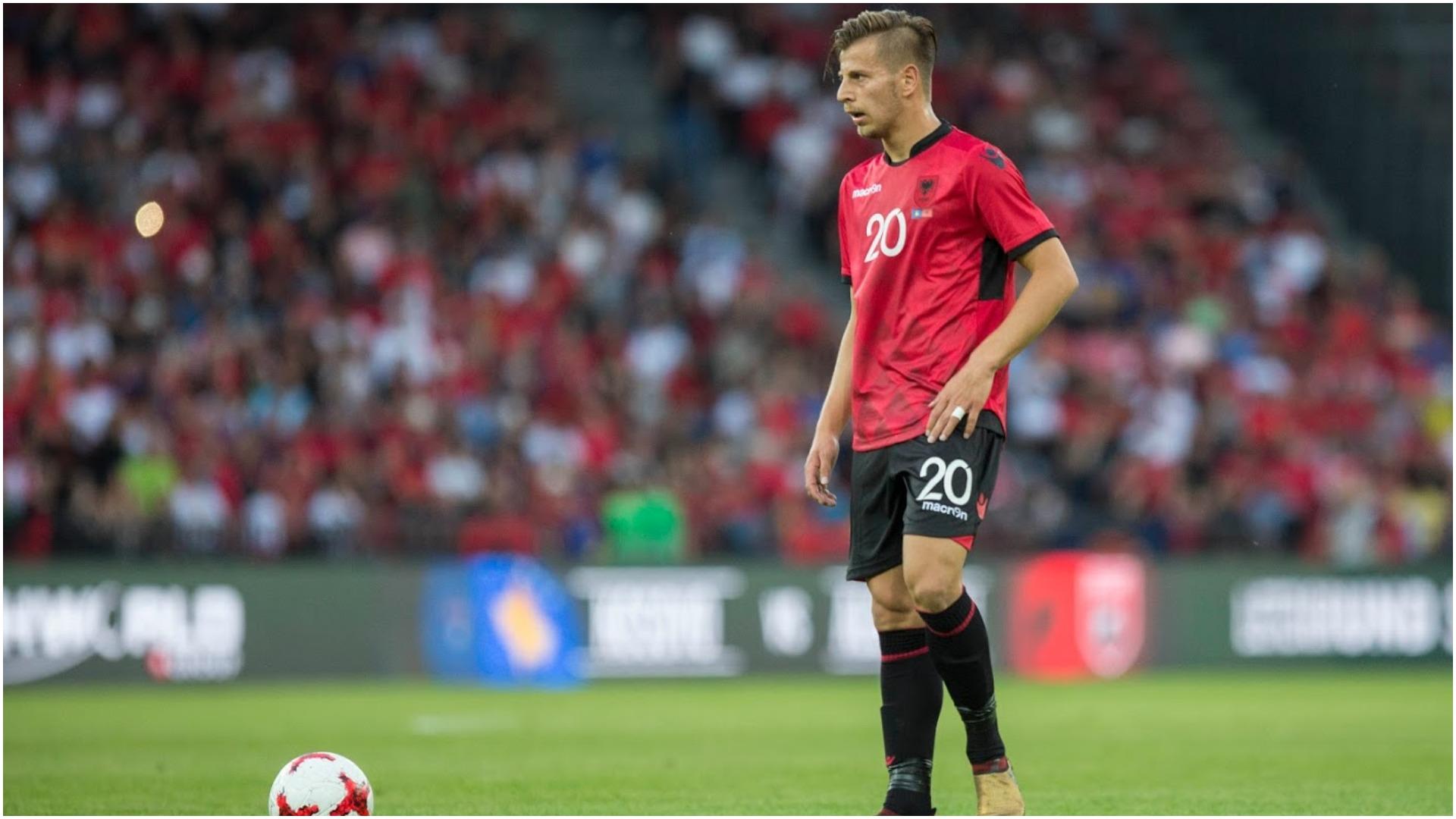 Infektohet me COVID-19 futbollisti i kombëtares shqiptare