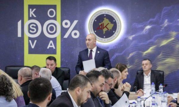 Sot nënshkrimi i marrëveshjes për koalicionin, Haradinaj mbledh partinë