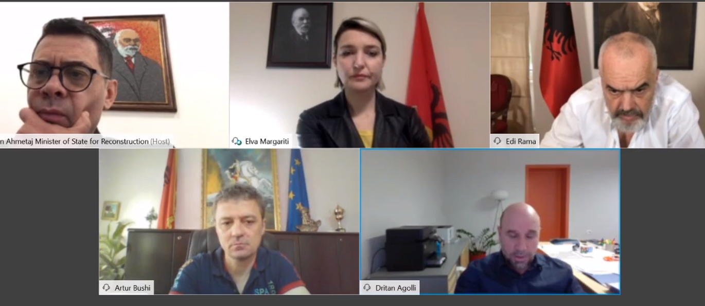 Rama publikon videon: Prezantohet plani i rindërtimit të Fushë-Krujës