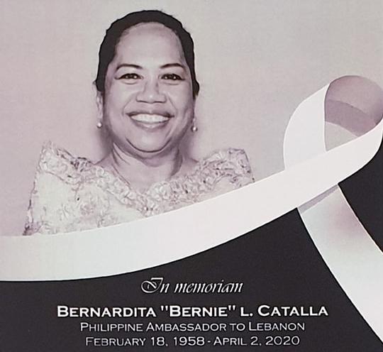 Ambasadorja e Filipinëve në Liban vdes nga Covid-19
