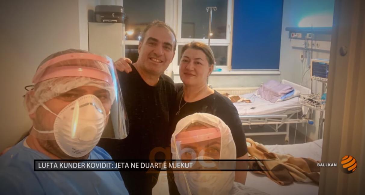 Lufta me covid-19: Jeta në duart e mjekut