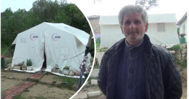 E moshuara nga Kruja në gjendje të rënduar shëndetësore ende në çadër, i biri bën apel për ndihmë