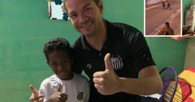 VIDEO/ I mahniti të gjithë me një gol në rrugë, Santos e merr në ekip