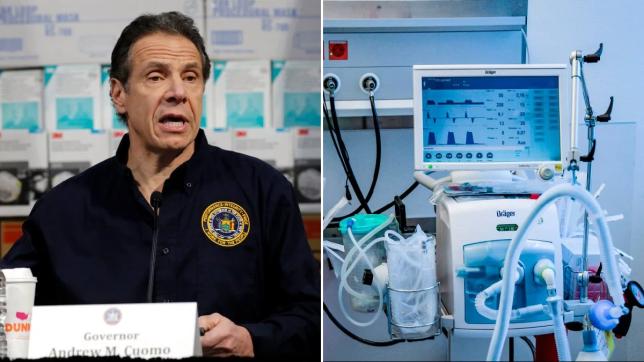 Guvernatori i New York: Katër të pestat e pacientëve që kanë nevojë për ventilues, do vdesin