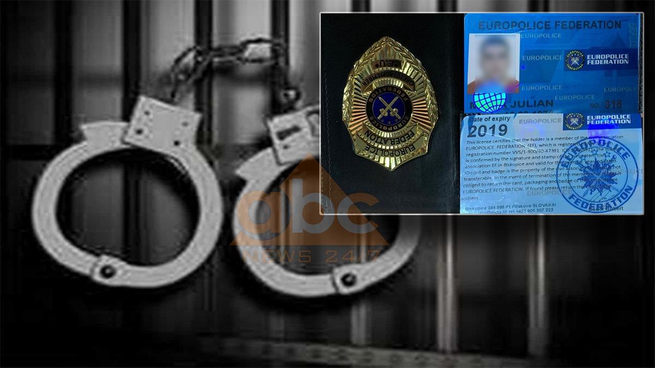 """FOTO/ """"Jam agjent i Europolit"""": Si u kap me dokument të pazakontë policie 42 vjeçari në Tiranë"""