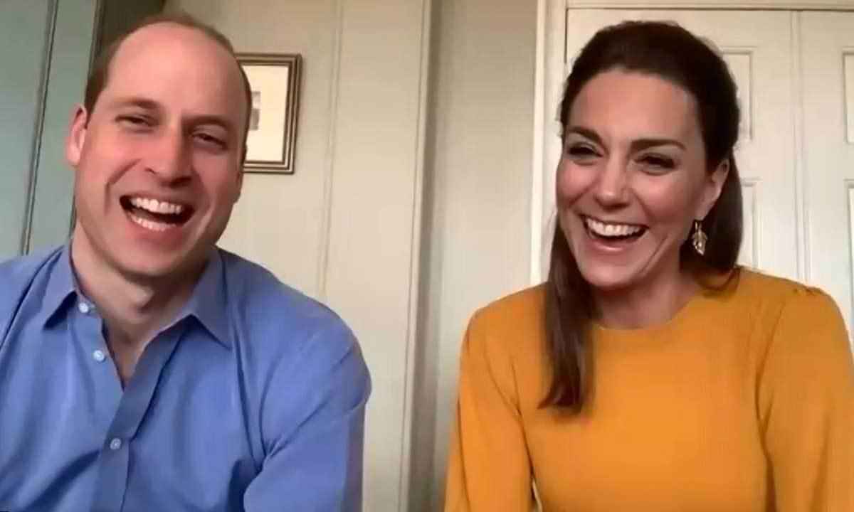 Bisedë virtuale, Kate dhe Princi William surprizojnë nxënësit dhe stafin e shkollës