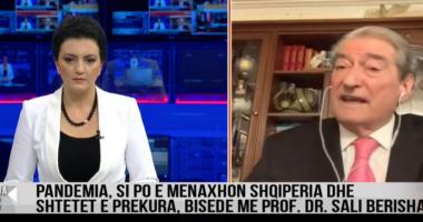 Koronavirusi, Berisha: Drejtimi jo-politik është i domosdoshëm që të mos shkojmë drejt katastrofës