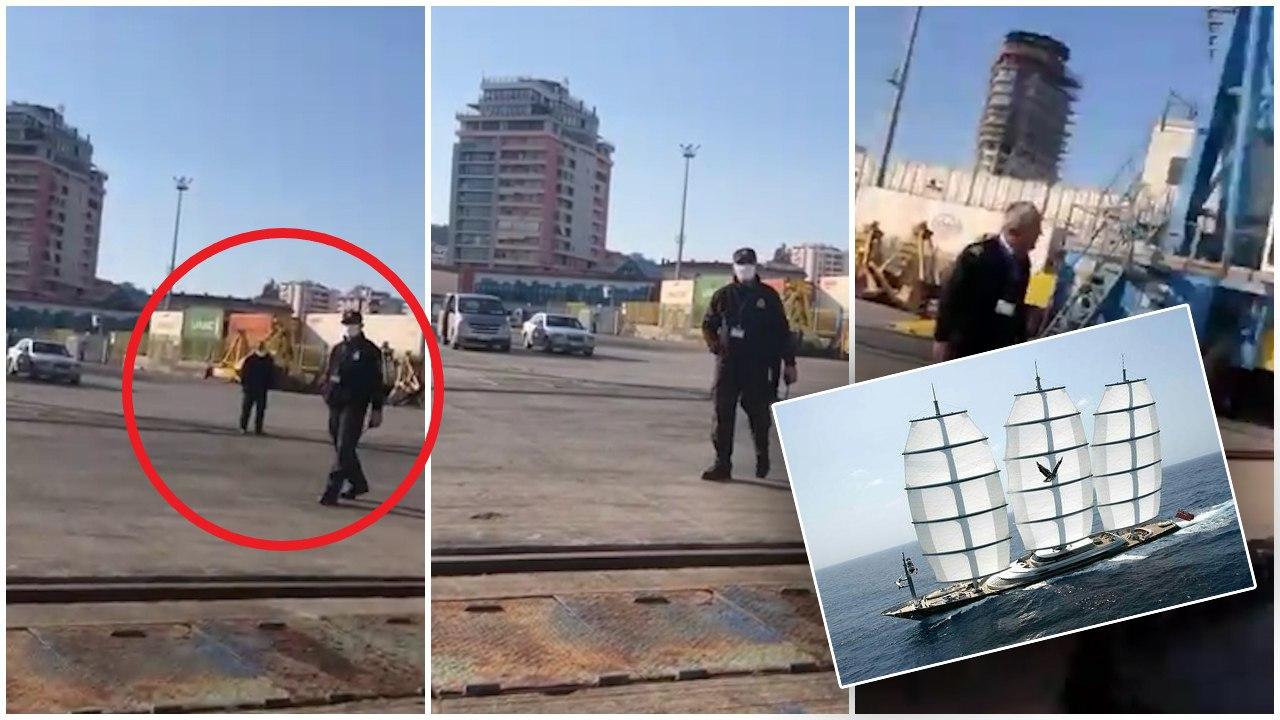 VIDEO/ Ik se do hash burgun, a merr vesh? Si u përzu nga Durrësi mes kërcënimeve jahti i famshëm