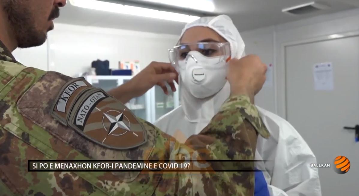 Zëdhënësi i KFOR-it, kolonel Mario Renna, për ABC News: Si po e menaxhon KFOR-i pandeminë e covid-19