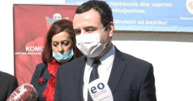 """""""Nuk është koha për ping-pong politik"""", Kurti: Prioritet lufta kundër pandemisë"""