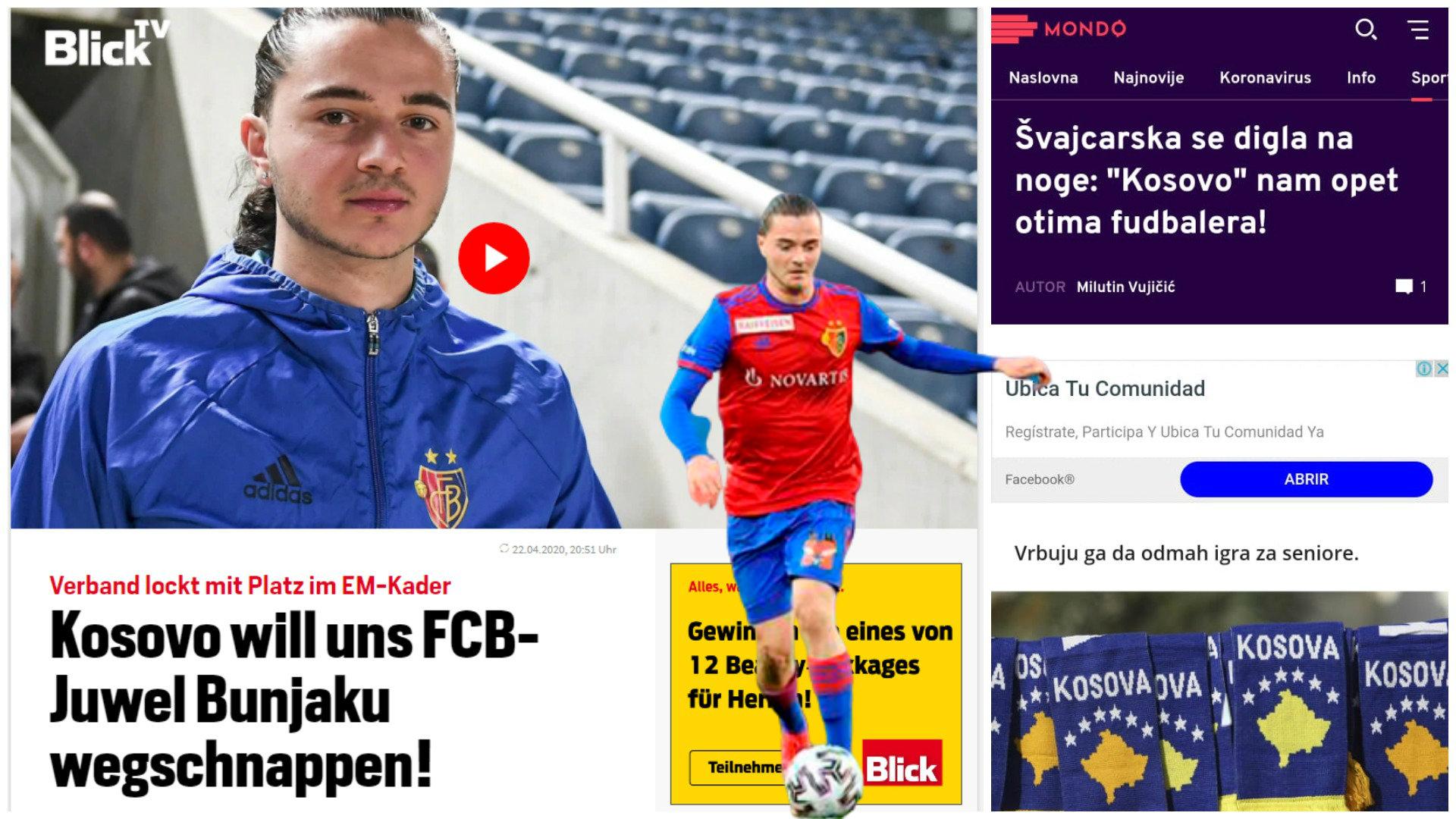 """""""Zvicra në këmbë: Kosova na rrëmben talentin"""", lajmi i Blick frymëzon serbët"""
