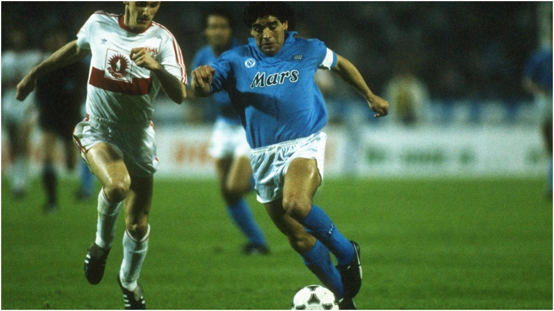Maradona, fenomeni që udhëhoqi Napolin drejt trofeut të vetëm UEFA në histori