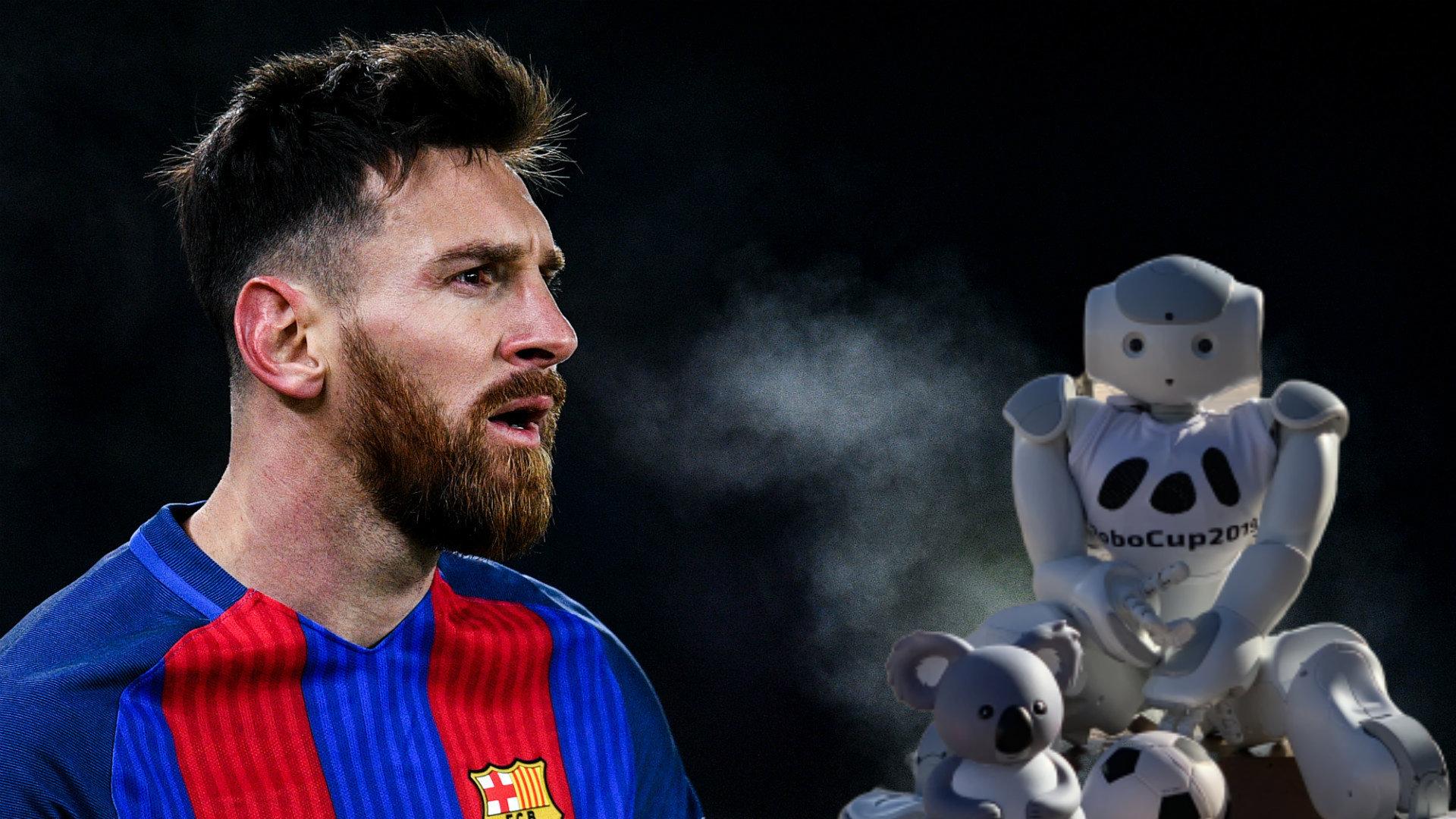 VIDEO/ Çfarë plani: Robotë si Messi, kur do i sfidojnë njerëzit në futboll