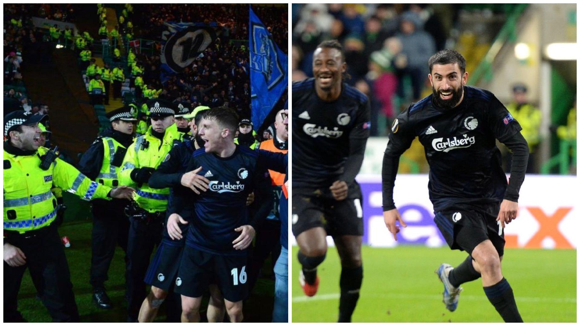 U kap më policinë gjatë ndeshjes, UEFA pezullon sulmuesin