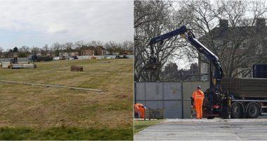 Sa dy fusha futbolli, Anglia ndërton morgun për të mbajtur trupat e viktimave të koronavirusit