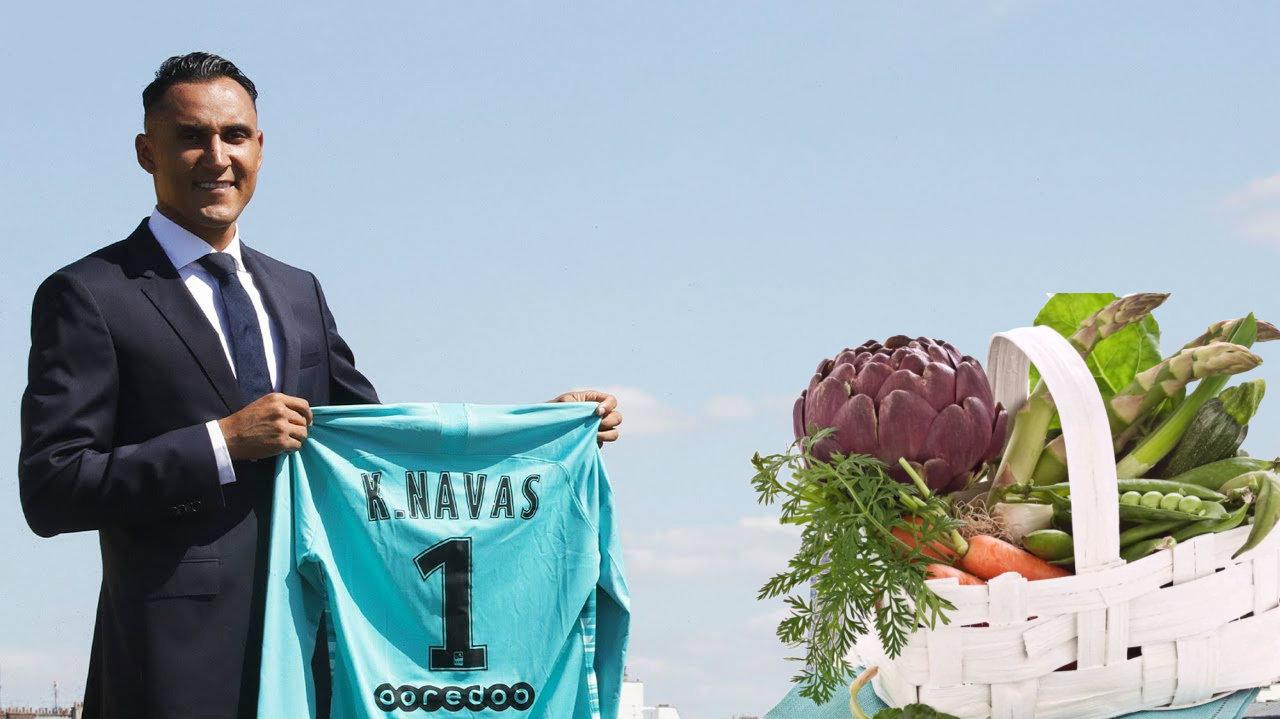 """""""Shporta e shpresës"""", Keylor Navas shpërndan ndihma në Kosta Rikë"""