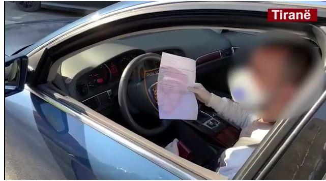 Aksioni për të pabindurit e karantinës, ndërshkohen 262 qytetarë dhe u hiqet patenta 41 shoferëve